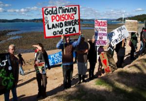 anti mining fracking